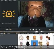 Splitcam 7.2.4.1 - употребление web-камеры одновременно в нескольких приложениях