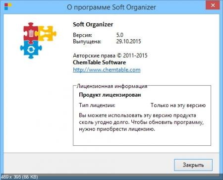 Soft Organizer 5.0 Final RePack by KpoJIuK
