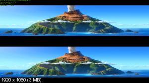 Лава 3Д / Lava 3D (by Ash61) Вертикальная анаморфная