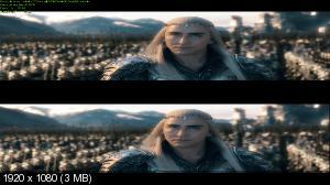 Хоббит: Битва пяти воинств 3D / The Hobbit: The Battle of the Five Armies [Хоббит: Битва пяти воинств / The Hobbit: The Battle of the Five Armies 3D [Расширенная версия]  (Лицензия by Ash61) Вертикальная анаморфная