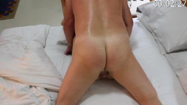 Uzbekistan whore milf lets me use her and spunk over her 2
