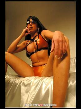 Latex Bikini RedOptics.com