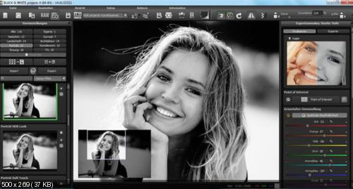 BLACK & WHITE projects 4.41 Pro + Rus