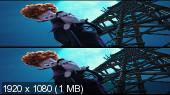 Монстры на каникулах 2 3D / Hotel Transylvania 2  Вертикальная анаморфная