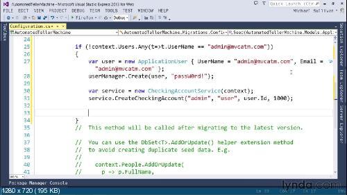[Lynda.com] Основной курс по ASP.NET MVC 5