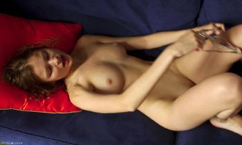 0036 Orange Pillow