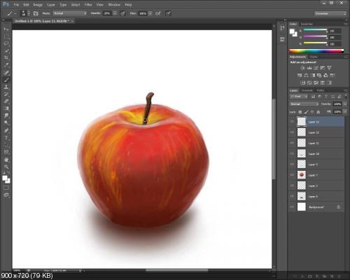"""[Render.ru] Дистанционный курс """"Adobe Photoshop для художников: школа компьютерной живописи"""""""