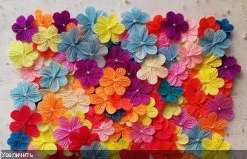 Цветы из гофрированой бумаги 1785e36f797c98a04ee3783931a5ef00